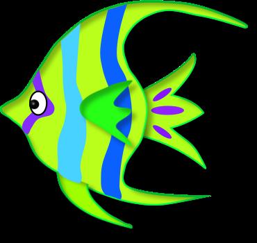 370x350 Tropical Fish Clipart Angel Fish