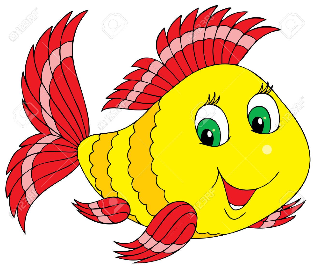 1300x1109 Best Cute Fish Clipart