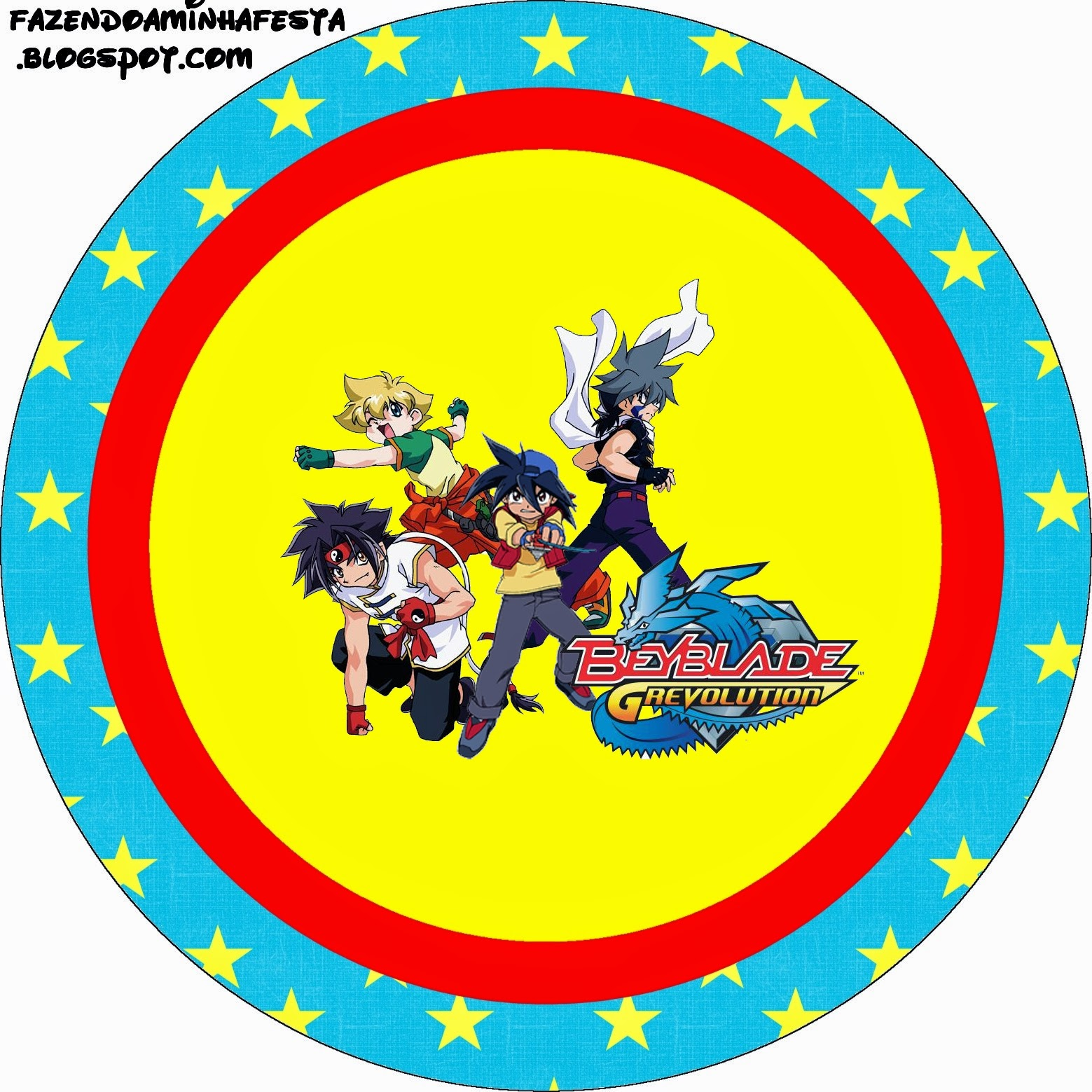1559x1559 Beyblade Free Printable Candy Bar Labels.