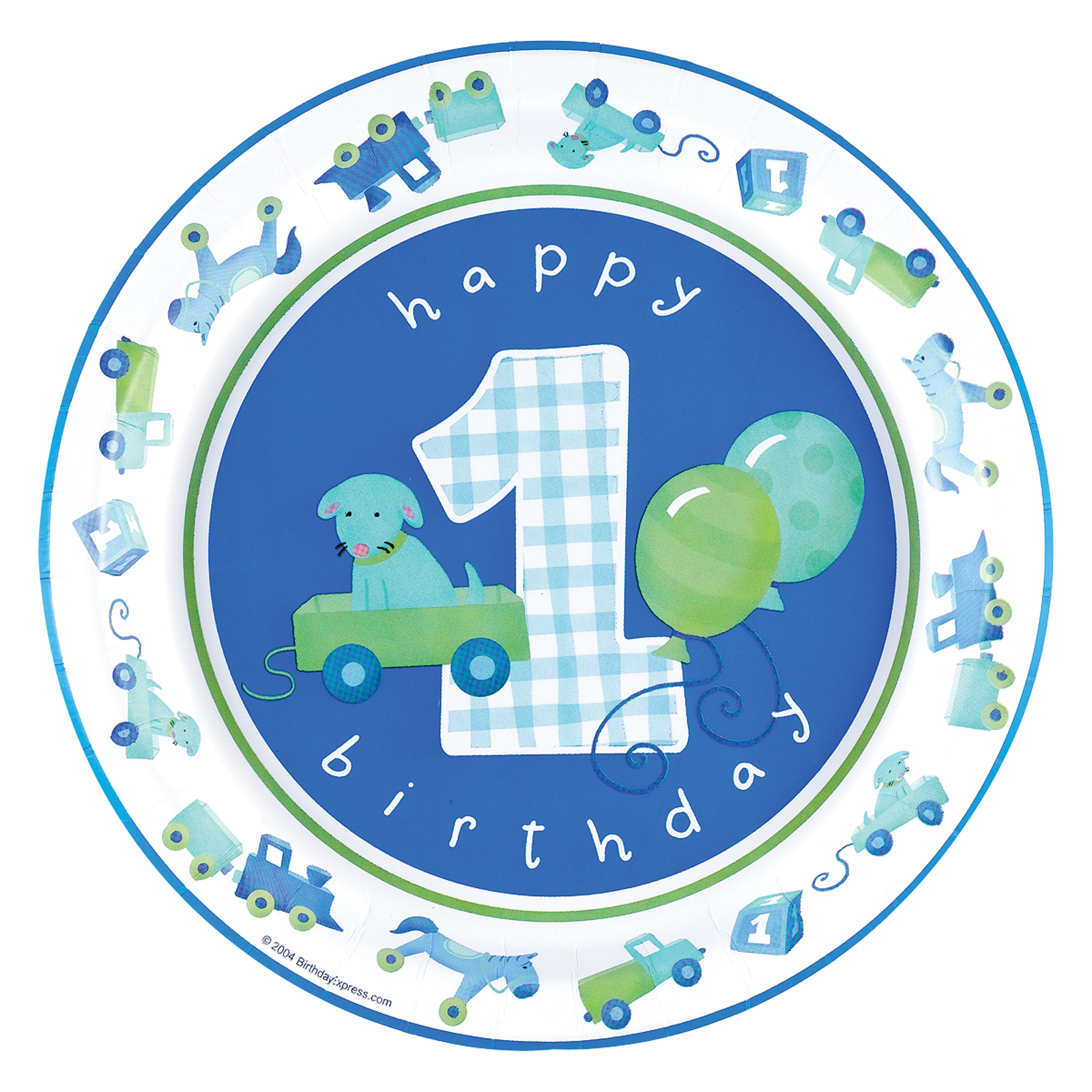 1600x1600 Boys Little 1st Birthday Cake Icing Image This Party Started