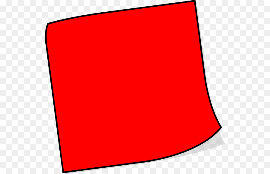 900x580 Post It Clipart Red