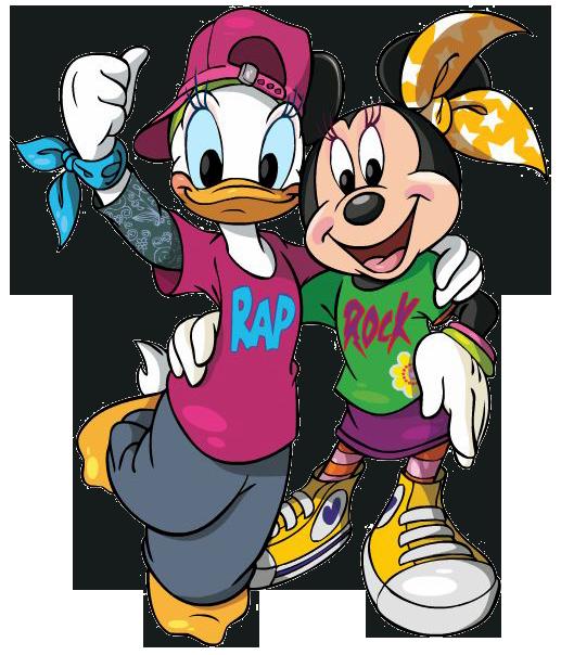 517x604 Minnie Amp Daisy Bff Clipart