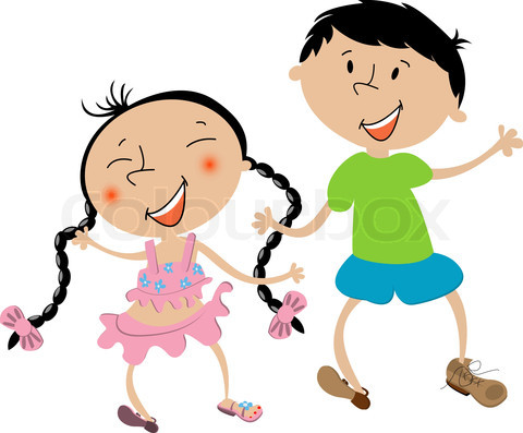 480x397 Girl And Guy Bestfriends Clipart