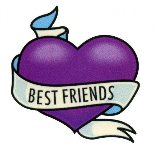 500x500 Purple Friends Clipart