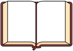 236x166 Blank Open Book Clip Art Open Book With Blank Pages Clip Art