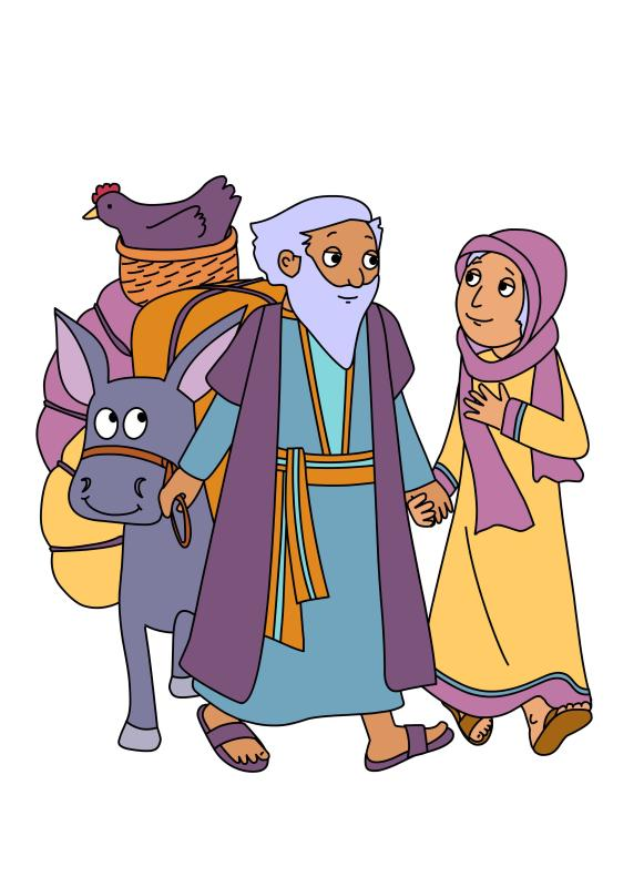 581x800 The Complete Bible Story Clipart Book