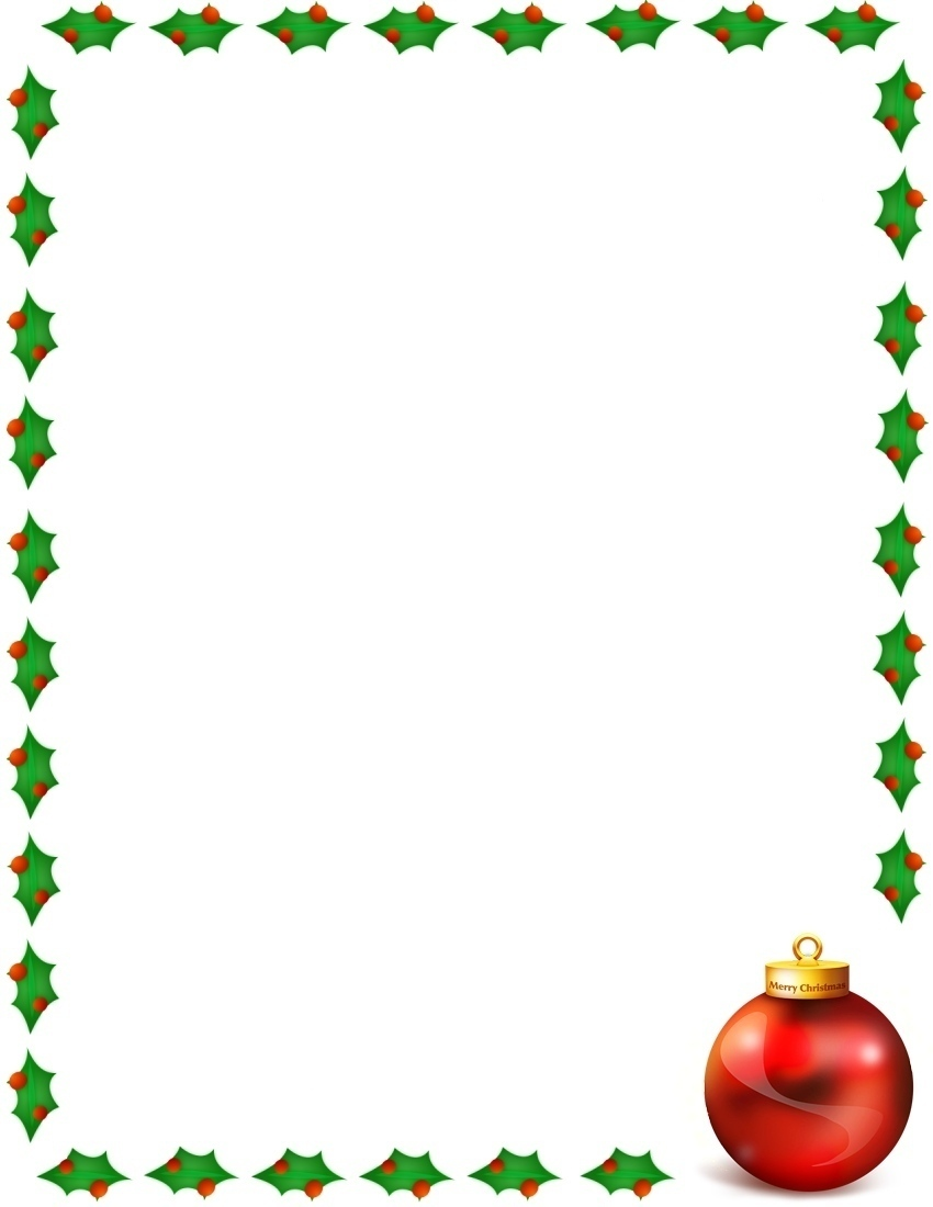 850x1100 Free Christmas Clipart Downloads