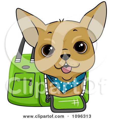 450x470 Royalty Free (Rf) Little Dog Clipart, Illustrations, Vector