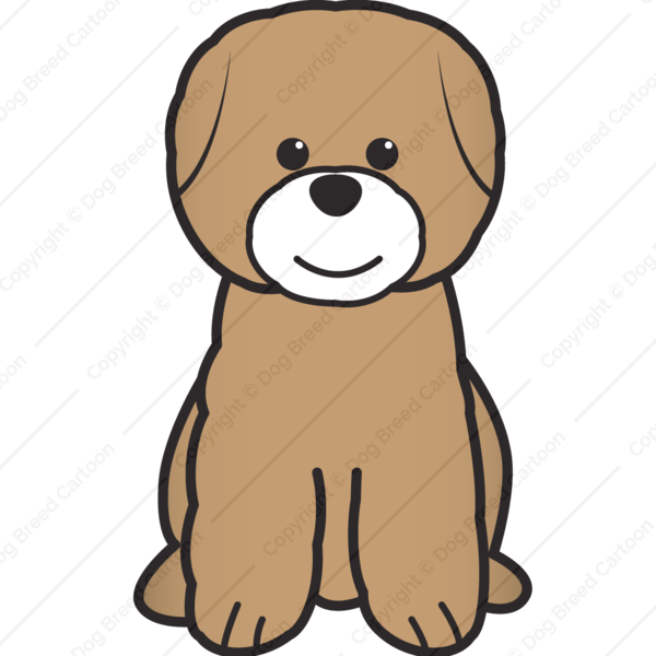 600x600 Bichon Frise Download Cartoon Dogs Bichon Frise Dog Cartoon