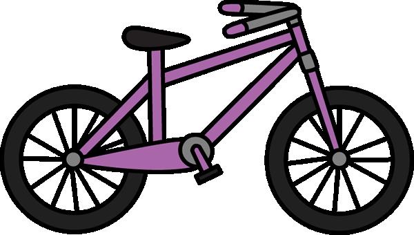 600x340 Bike Purple Bicycle Clip Art Clipart Panda