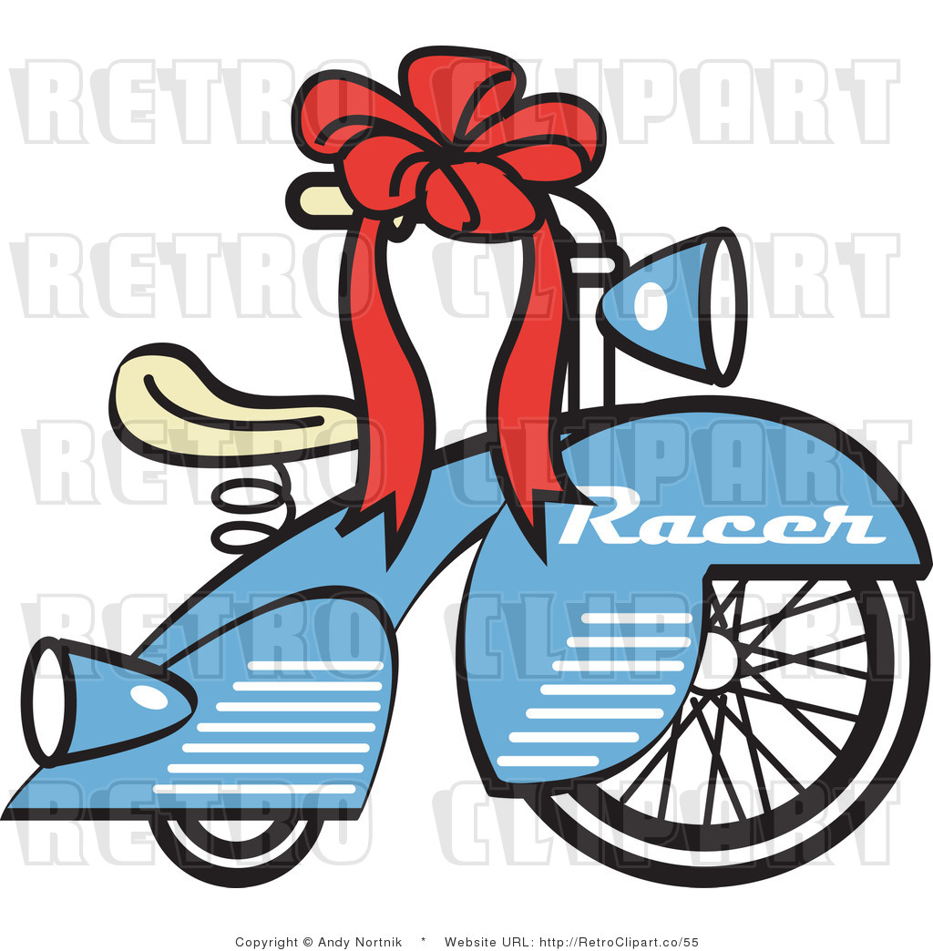 1024x1044 Royalty Free Retro Vector Clip Art Of A Bicycle By Andy Nortnik