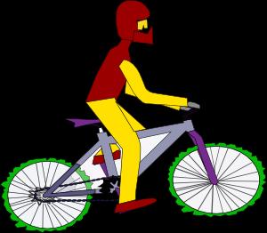 300x262 Bicycle Clip Art Free Vector 4vector