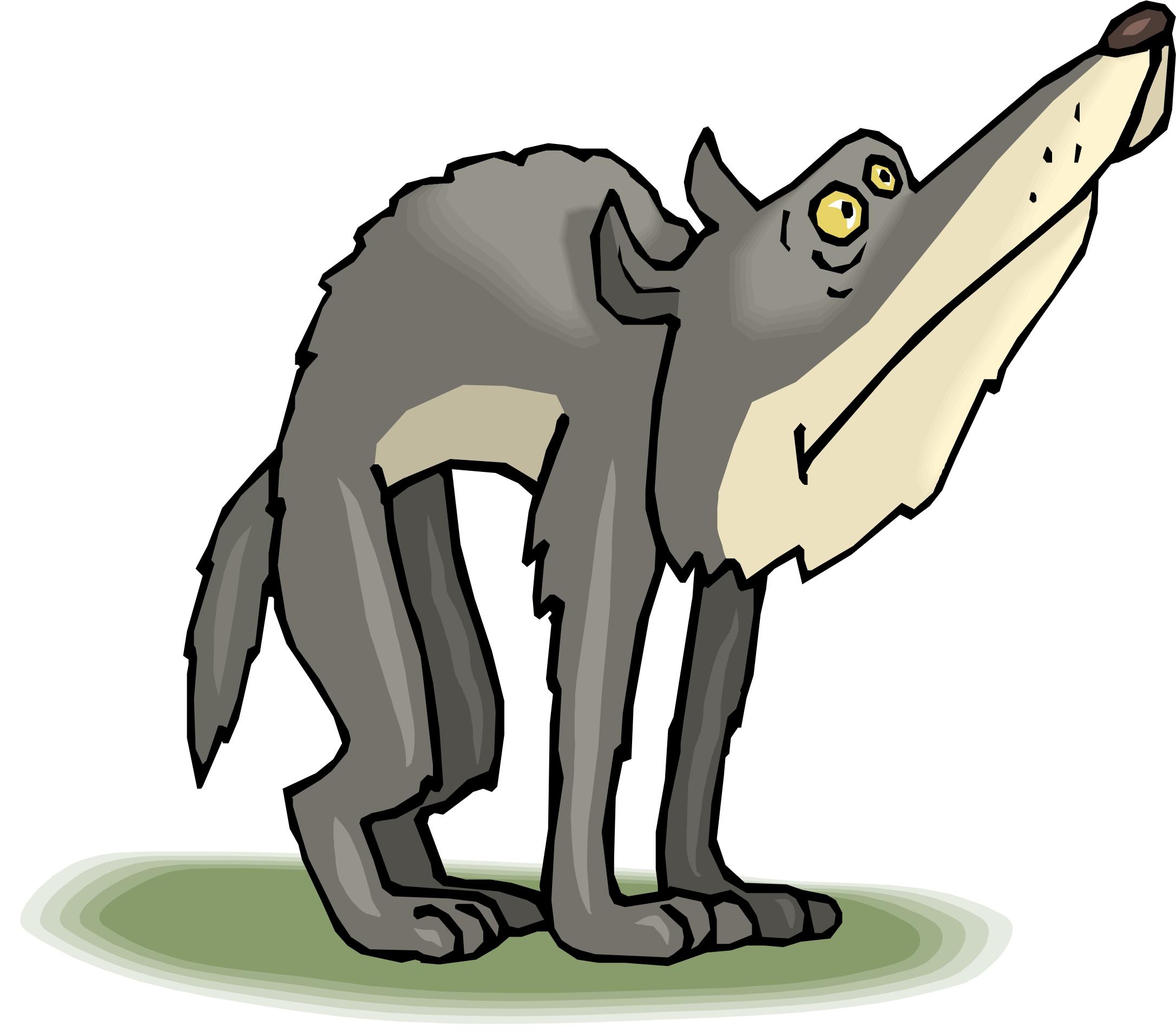 2173x1907 Cartoon Wolf Clipart
