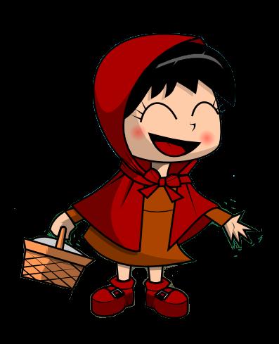 397x489 Little Red Riding Hood Clip Art