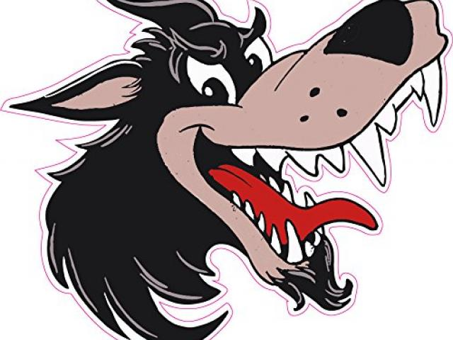 640x480 Big Bad Wolf Clipart Free Download Clip Art