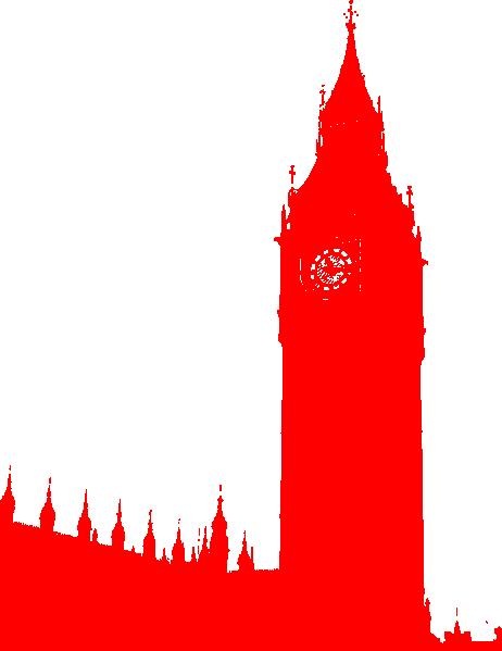 462x599 Big Ben Red Clip Art