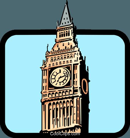 454x480 Big Ben Royalty Free Vector Clip Art Illustration Arch0237