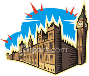 300x259 Big Ben And The Palace In London