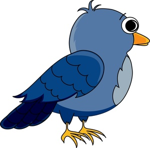 300x295 Free Cartoon Bird Clipart Image 0515 1005 1601 3425