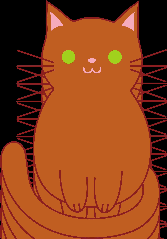 3528x5039 Cat Clipart