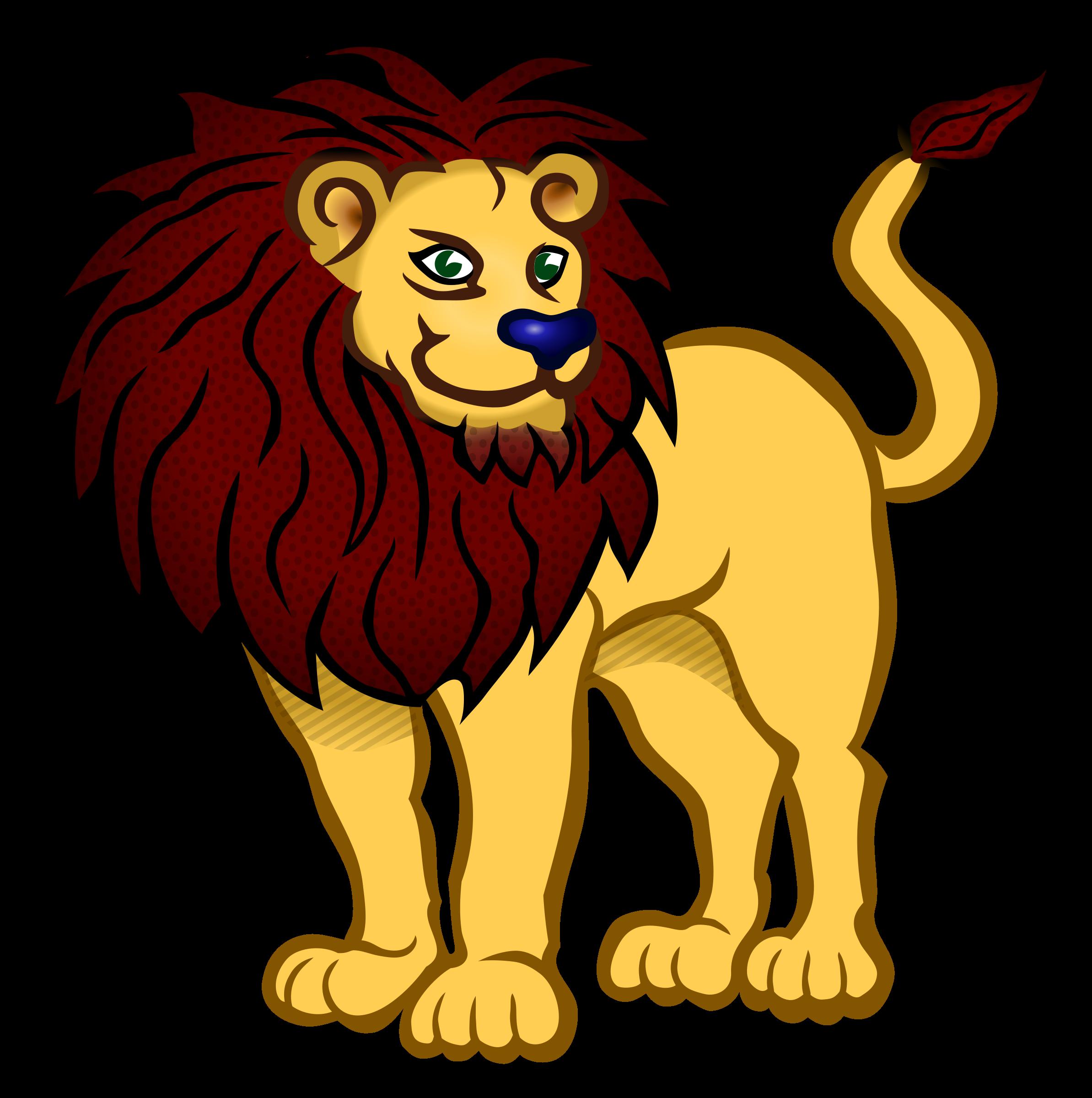 2387x2400 Clip Art Clip Art Of Lion