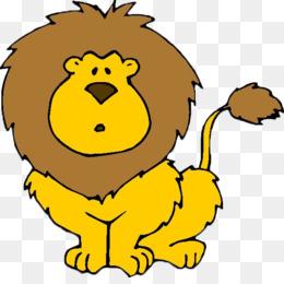 260x260 Lion Cartoon Animation Clip Art