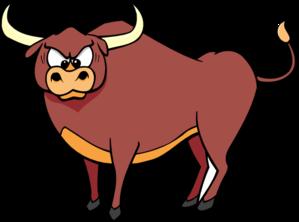 299x222 Big Bull Clip Art