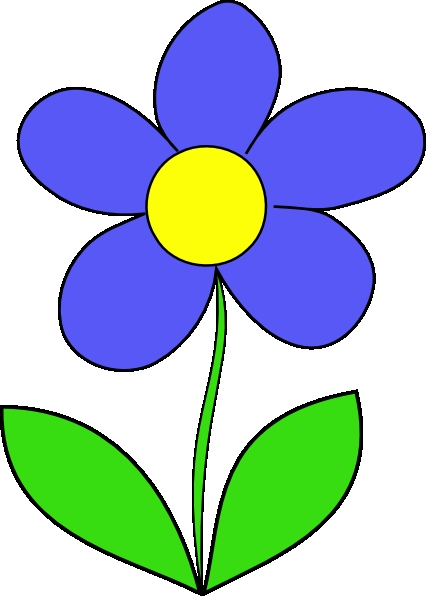 426x596 Big Flower Clipart Simple Flower Clip Art At Clker Vector Clip Art