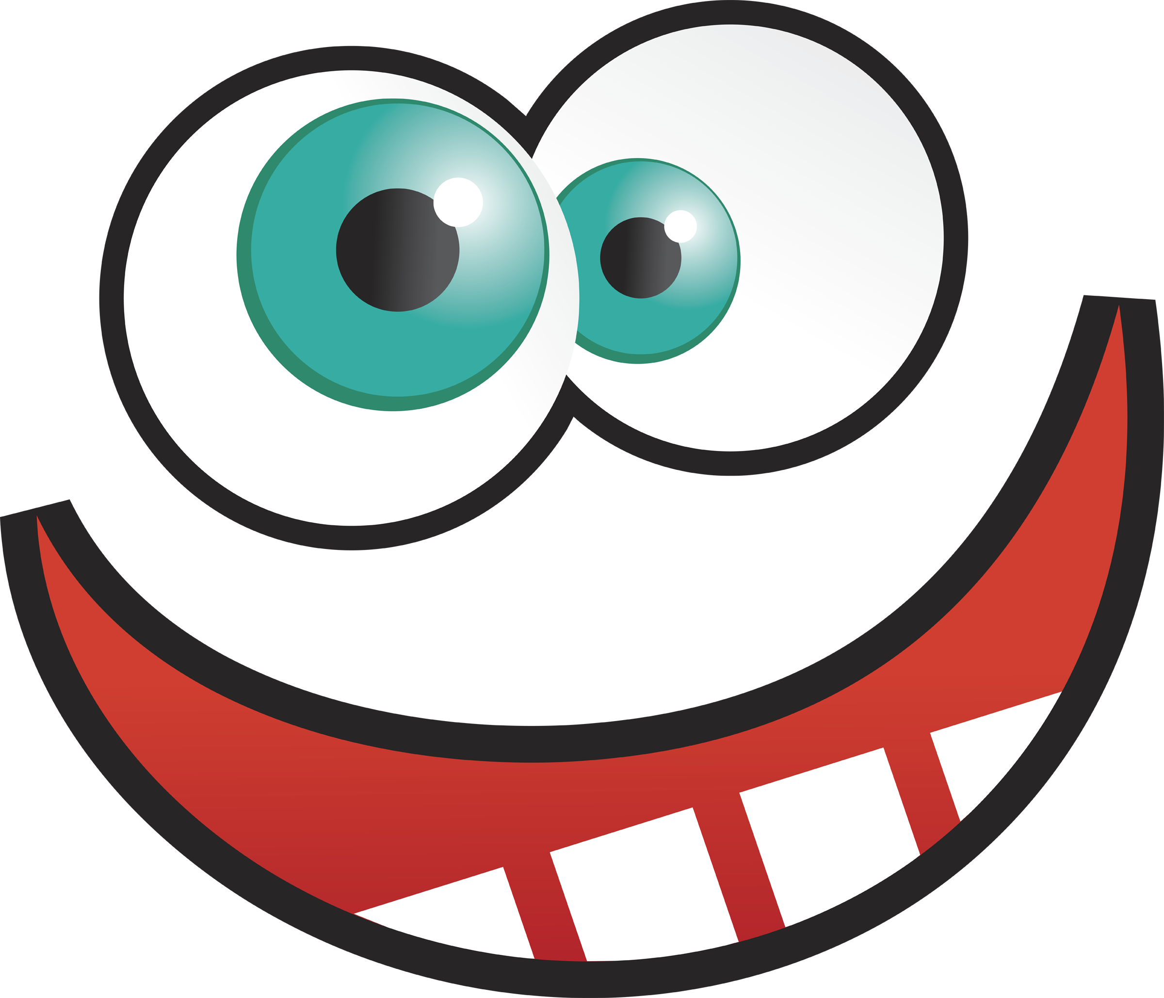 2400x2058 Big Cartoon Eyes Clip Art Cartoon Eyes Png