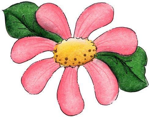Big Flower Clipart