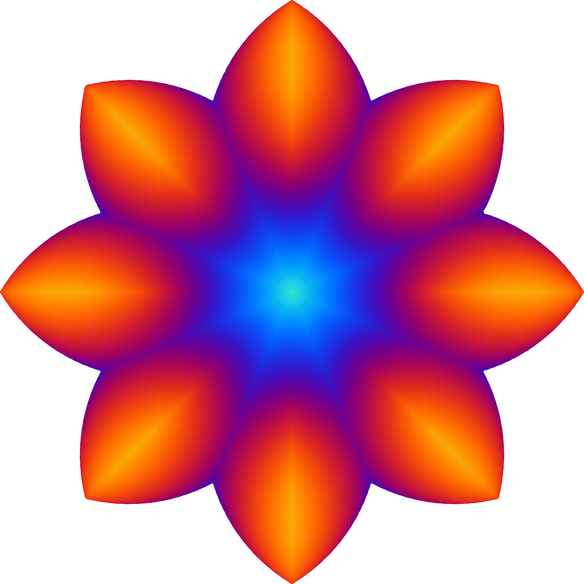 2400x2400 Colourful Flower 2 Icons Png