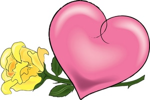 300x200 Heart Clipart Image