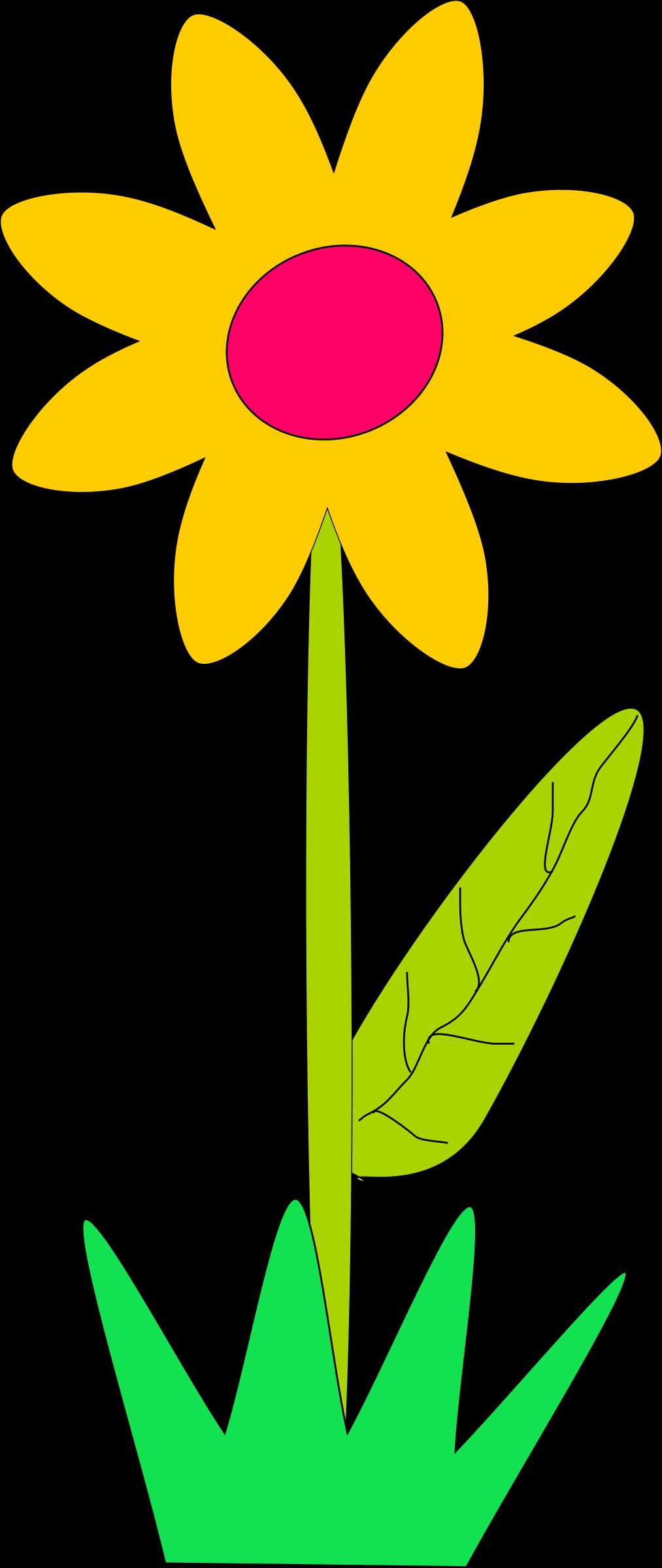 1013x2400 Big Flower Clip Art Cliparts