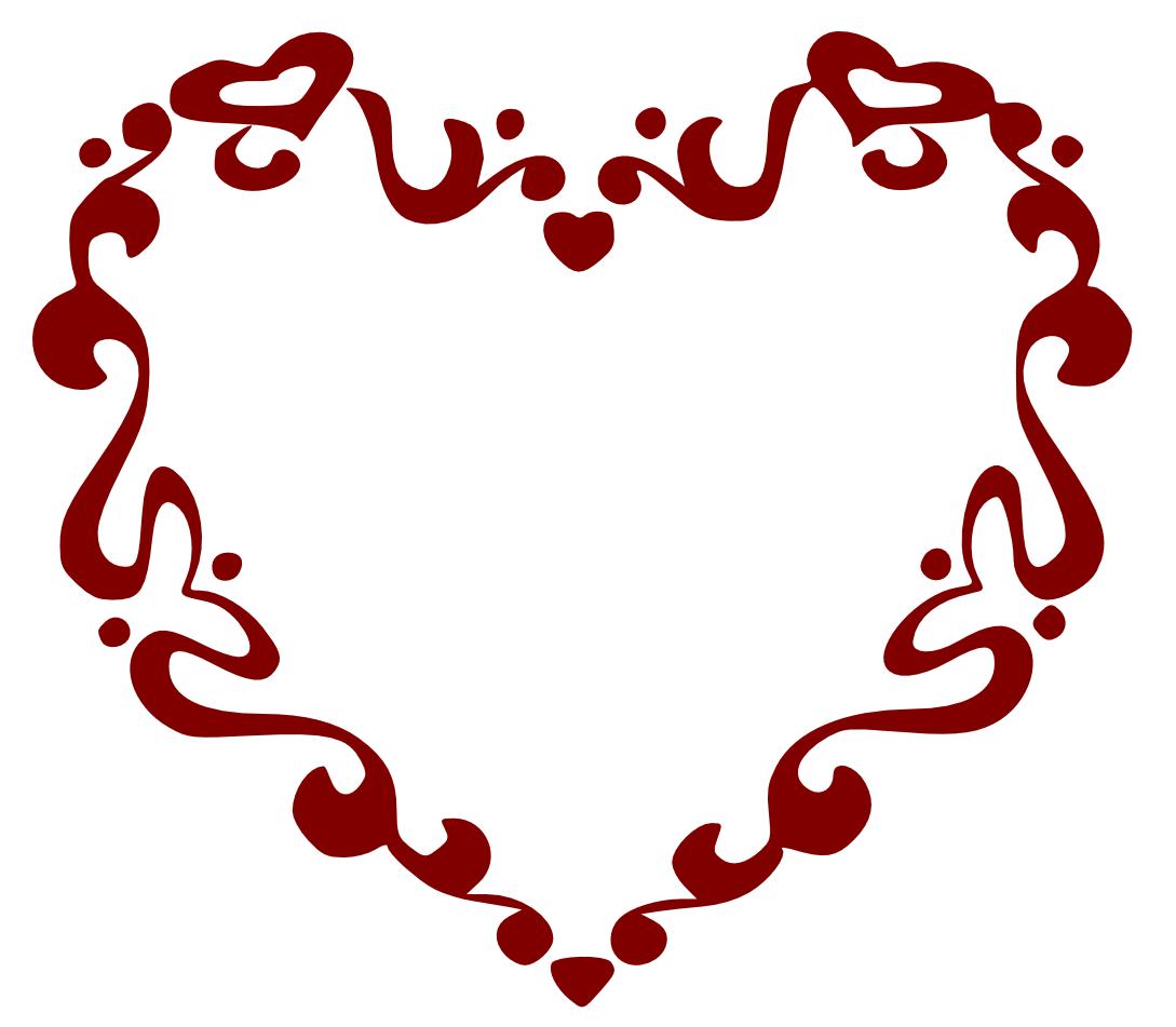 1089x951 Clip Art Heart Scroll Clip Art Heart Scroll Clip Art