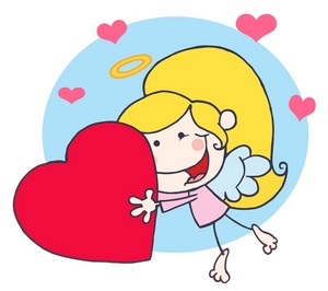 300x266 Free Angel Clipart Image 0521 1002 1012 0229 Valentine Clipart