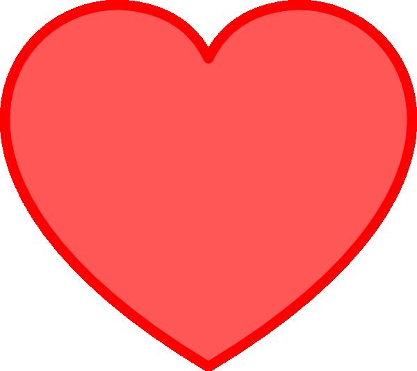 600x535 Gallery Big Red Hearts Clip Art,