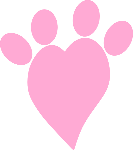528x599 Neoteric Pink Heart Clipart Big Baby