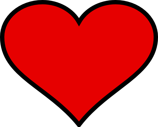 600x485 Picture Of A Big Heart Big Heart Clip Art