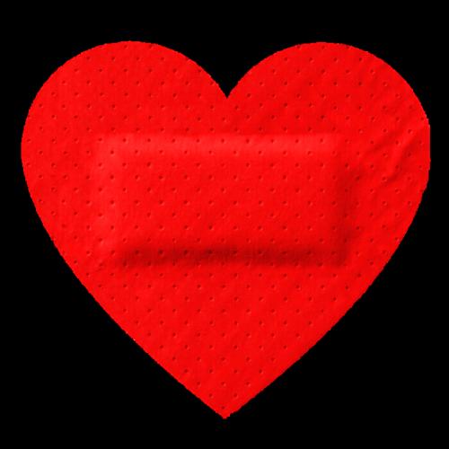 500x500 Red Heart Clip Art