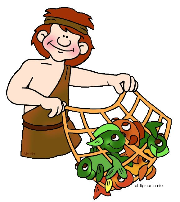 580x648 Fisherman Clipart Peter
