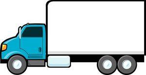 300x154 Truck Clip Art