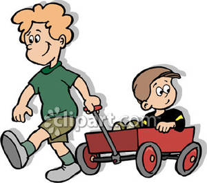 300x265 Elder Brother And Younger Brother Clip Art