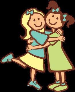 262x320 Sisters Hugging Clipart Jeanne Bo Beanne Hug