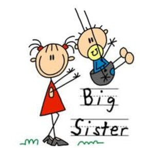 300x300 Big Sister Little Brother Clipart Free Images