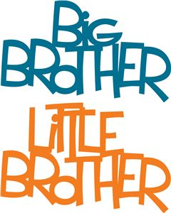 240x300 Big Brother Clipart