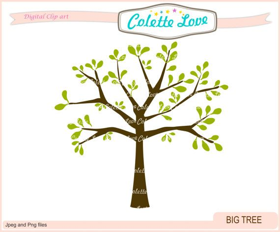 570x472 Tree Clip Art , Big Tree Clip Art , Personal Small Commercial Use