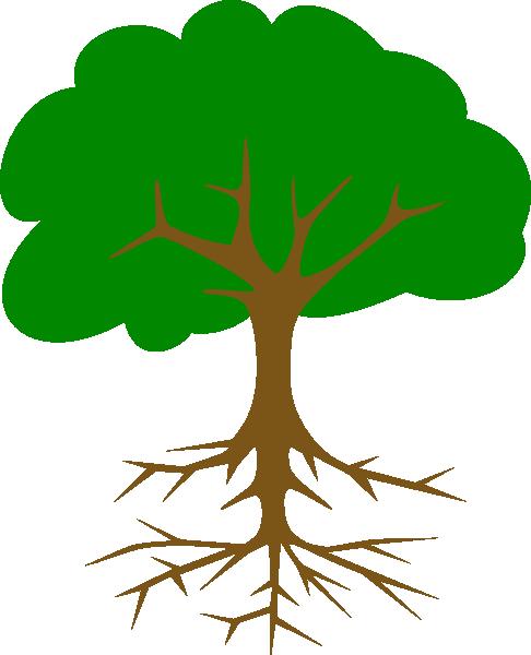 486x600 Big Tree Clip Art