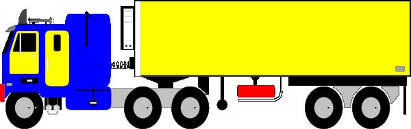 600x188 18 Wheeler Clip Art