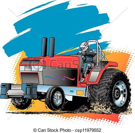 450x442 Pulling Truck Clipart