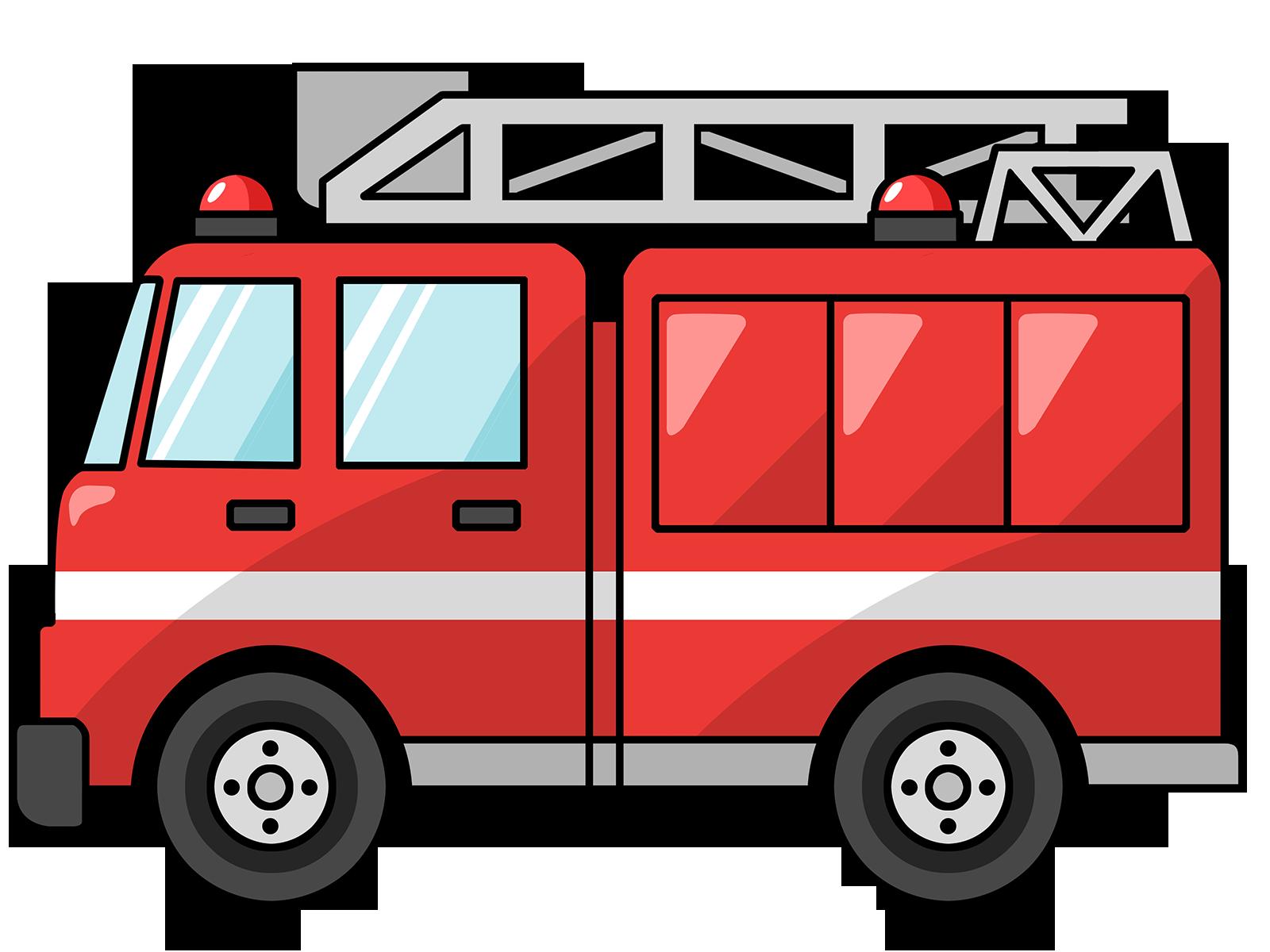 1600x1200 Fire Truck Clipart